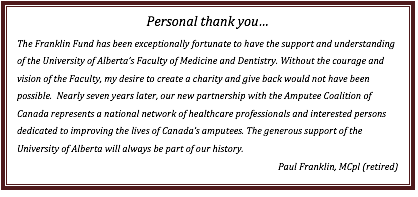 Text Box: Personal thank you�